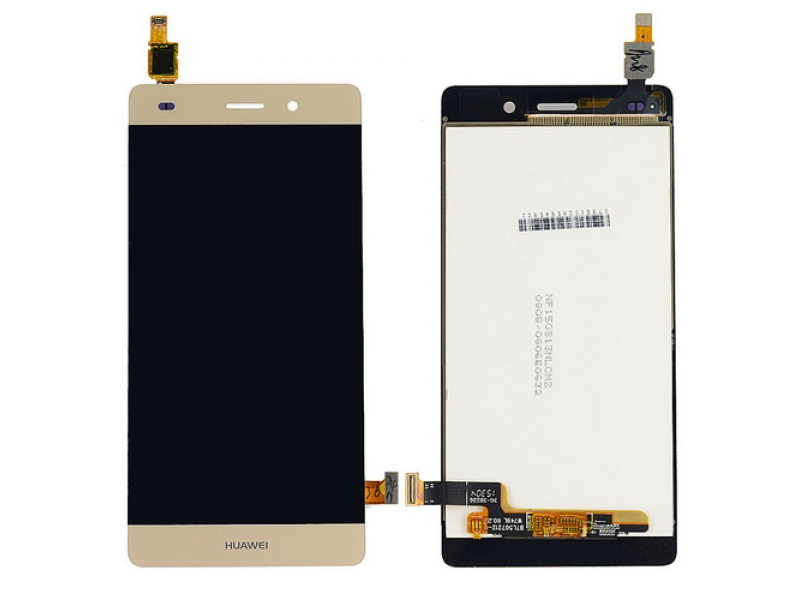 LCD + Touch pro Huawei P8 Lite (2015) - Gold (OEM)