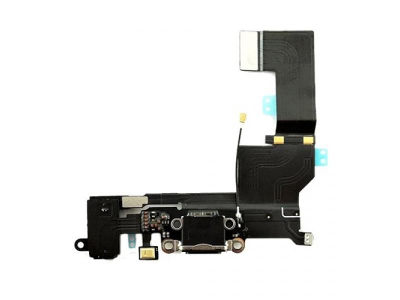 Charging Dock + Audio Jack Connector Flex Space Grey pro Apple iPhone SE