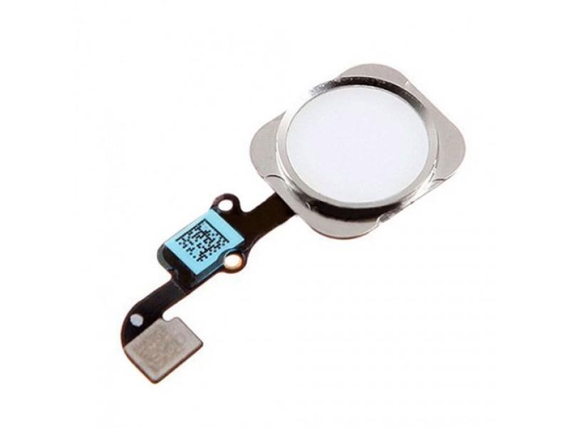 Home Button + Flex Silver pro Apple iPhone 6 Plus