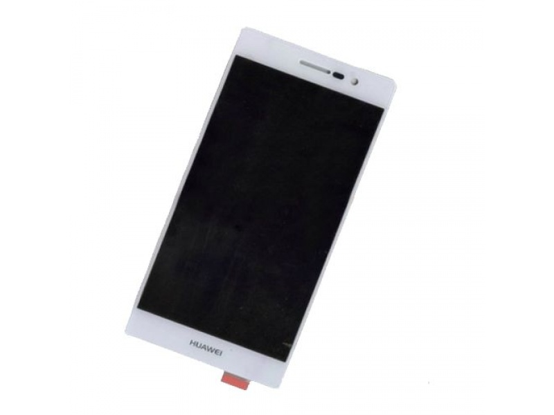 LCD + Touch pro Huawei P7 - White (OEM)