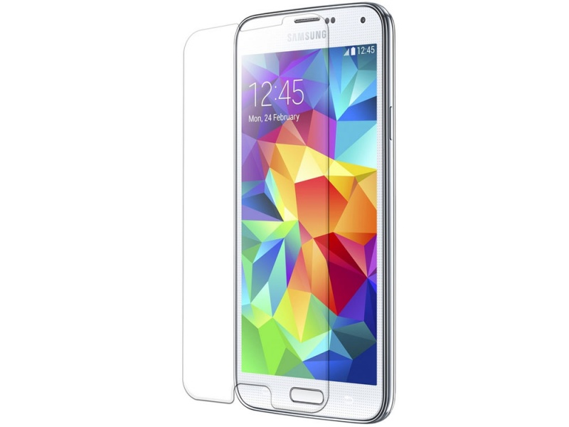 Samsung S5 Screen Protector Glass Transparent