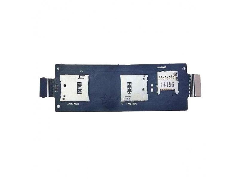 SIM Card Reader Flex pro Asus Zenfone 2 (ZE551ML) (OEM)