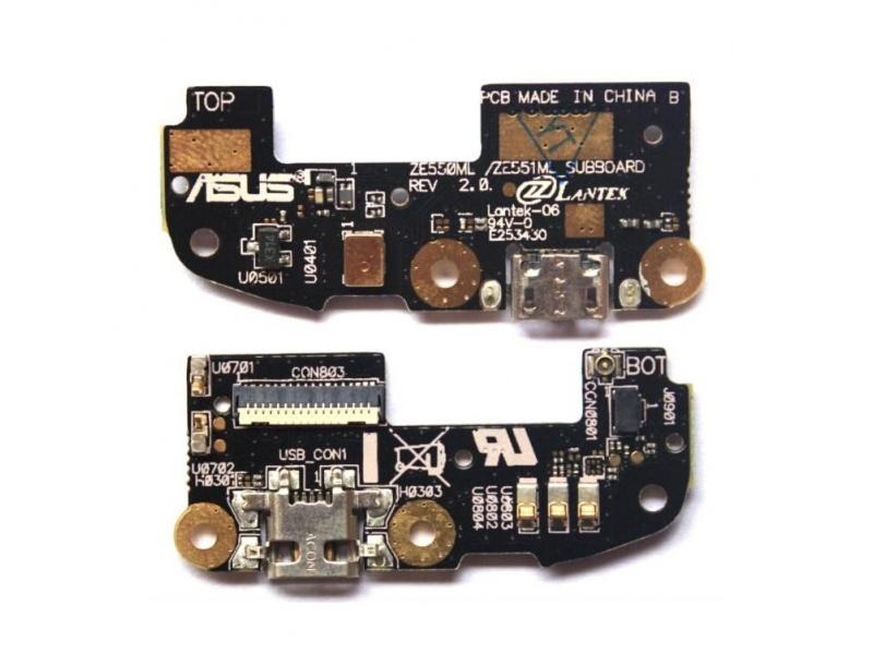 Small USB Charging Board pro Asus Zenfone 2 (ZE551ML) (OEM)
