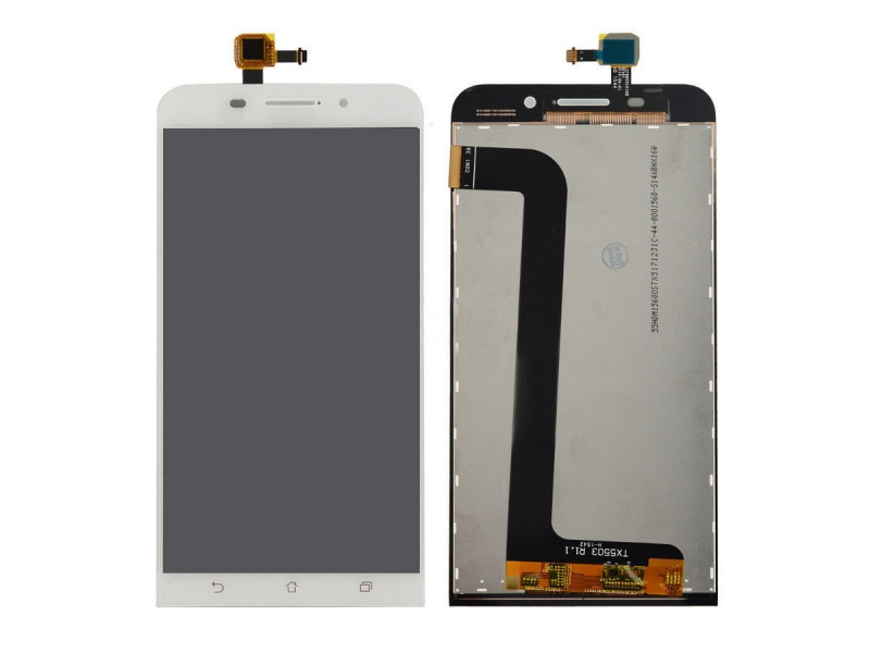 LCD + Touch pro Asus Zenfone MAX (ZC550KL) White (OEM)