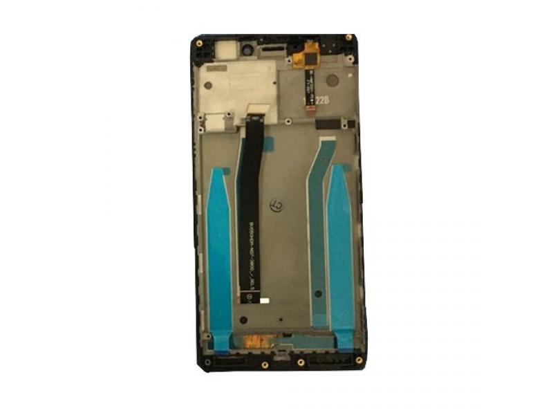 Xiaomi Redmi 3S LCD + Touch + Frame (Assembled) - Black (OEM)