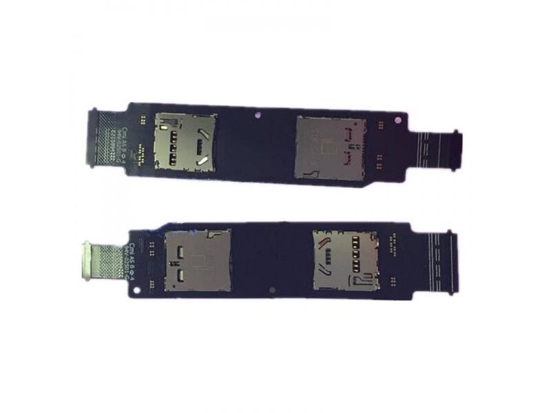 SIM Card Reader Flex pro Asus Zenfone 2 Laser (ZE500CL) (OEM)