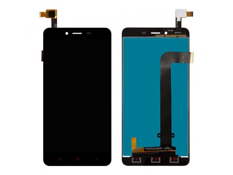 Xiaomi Redmi Note 2 LCD + Touch - Black (OEM)