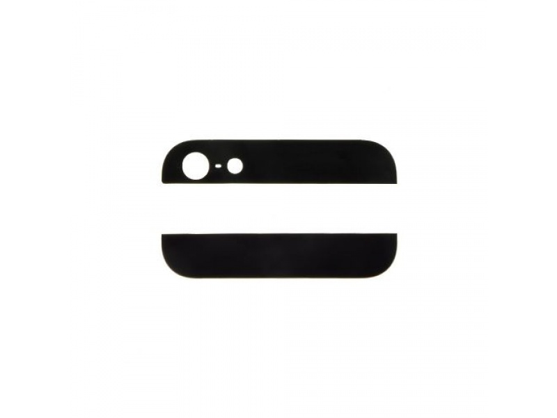 Back Cover Glass Black pro Apple iPhone 5S