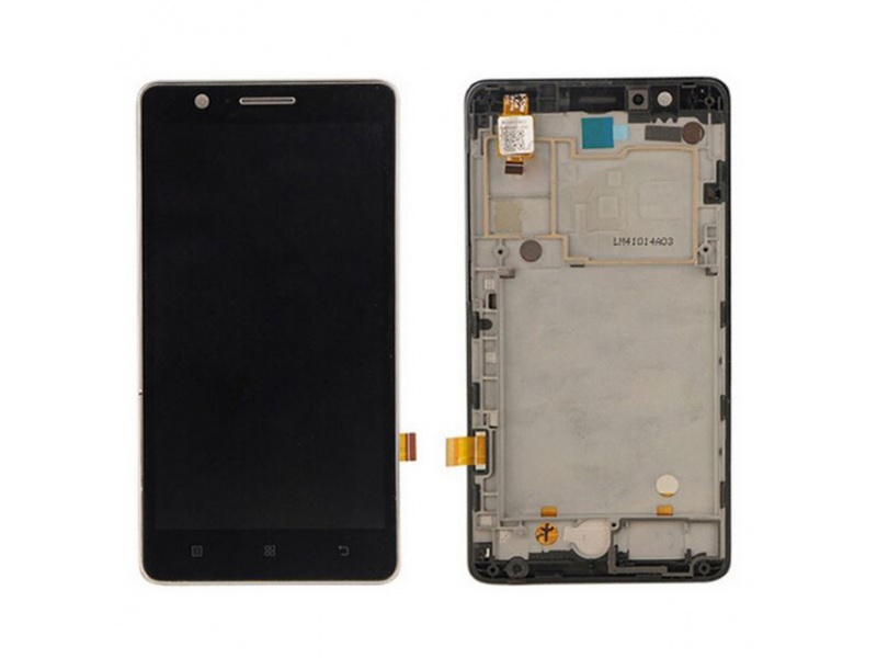 LCD + Touch + Frame (Assembled) pro Lenovo A536 Black (OEM)
