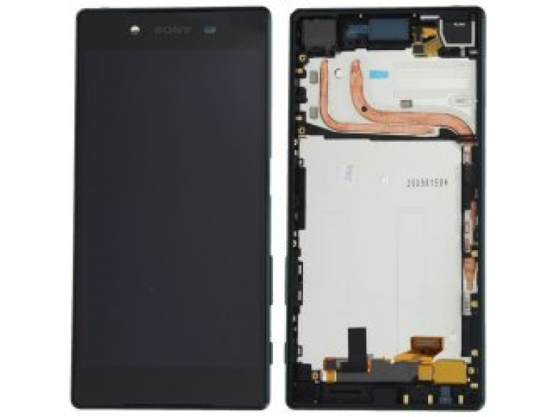 LCD + Touch + Frame pro Sony Xperia Z5 Dual (E6633) Black (OEM)
