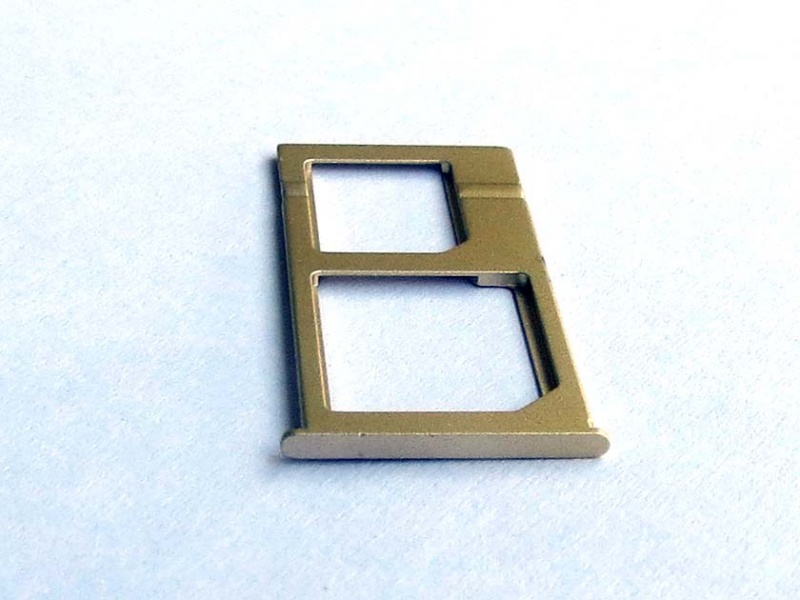 Xiaomi Mi Note SIM Card Tray - Gold (OEM)