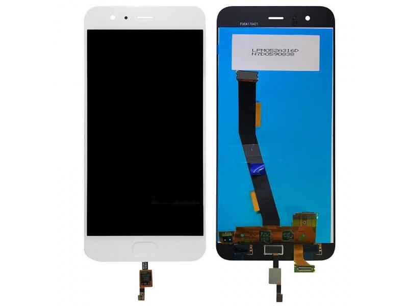 LCD + Touch pro Xiaomi Mi 6 White (OEM)